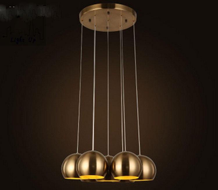 Ceiling Fans 52 European Classical Copper Iron Leaf Led E27*5 Ceiling Fan Light For Dining Room Living Room Bedroom Deco 1587 Ceiling Lights & Fans