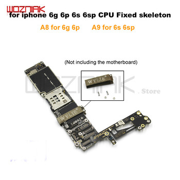 Wozniak WL A8 A9 CPU Fixed Skeleton For Iphone 6g 6p 6s 6sp CPU Fixed Frame Solve Incomplete Weld