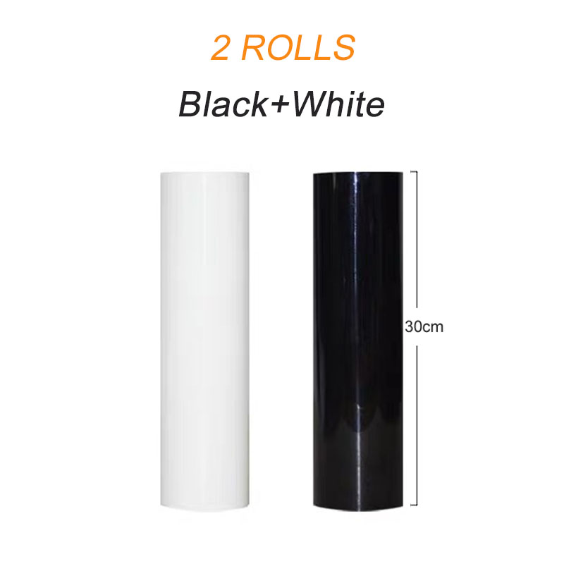 BEST quality 2 Roll 30cmx20m PVC Heat Transfer Vinyl for