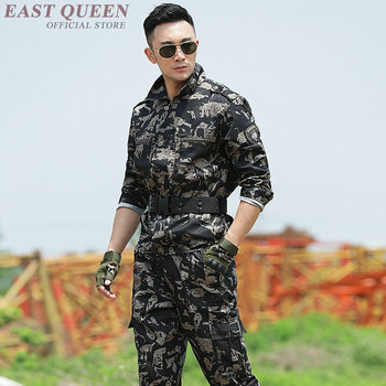 American military uniform us army tactical camouflage special forces uniforms clothing combat costume outfit  DD1202