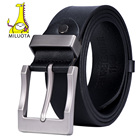 MILUOTA leather belt...