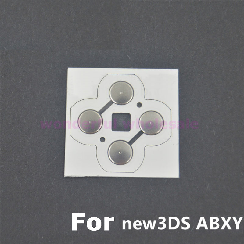 1x For New 3DS XL / LL Touches Boutons ABXY Electronic Conductive Film Button Circuit PCB Pads for New 3DS replacement touch screen module for nintendo 3ds ll xl transparent