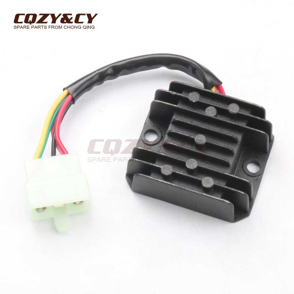 small resolution of voltage regulator rectifier 5 pin 12v for kymco like like ls people s dd eu