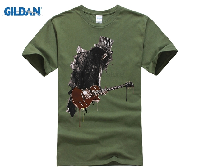 Slash T Shirt Men Guitar...
