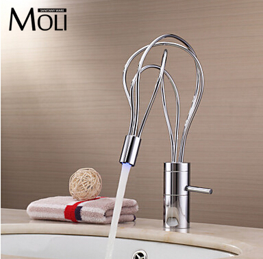 Bathroom Faucets With Lights bathroom faucets led promotion-shop for promotional bathroom
