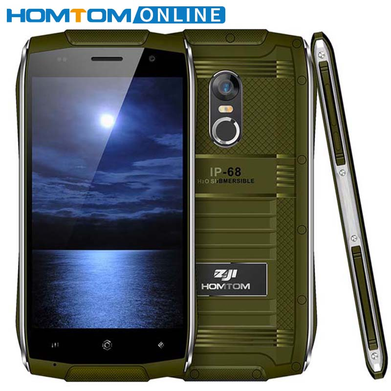 HOMTOM ZOJI Z6 IP68 Wasserdichte Smartphone Android 6.0 MTK6580 Quad Core HD Telefon 1 GB RAM + 8 GB ROM 3G Staubdicht Handy