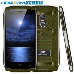 HOMTOM ZOJI Z6 IP68 Waterproof Smartphone Android 6.0 MTK6580 Quad Core HD Phone 1GB RAM+8GB ROM 3G Dustproof Mobile Phone