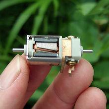 Микро двигатель с двойным валом DC 12 V-24 V 46000 об/мин высокого Скорость мини-двигатель 1,5 мм вал Диаметр оси DIY слот автомобиль Лодка игрушечный Радиоуправляемый автомобиль