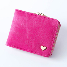 Woman Wallet Canvas Female Purse Hasp Coin For Girls Small Wallets And Purses Ladies Clutch Bag Card Holder Fashion