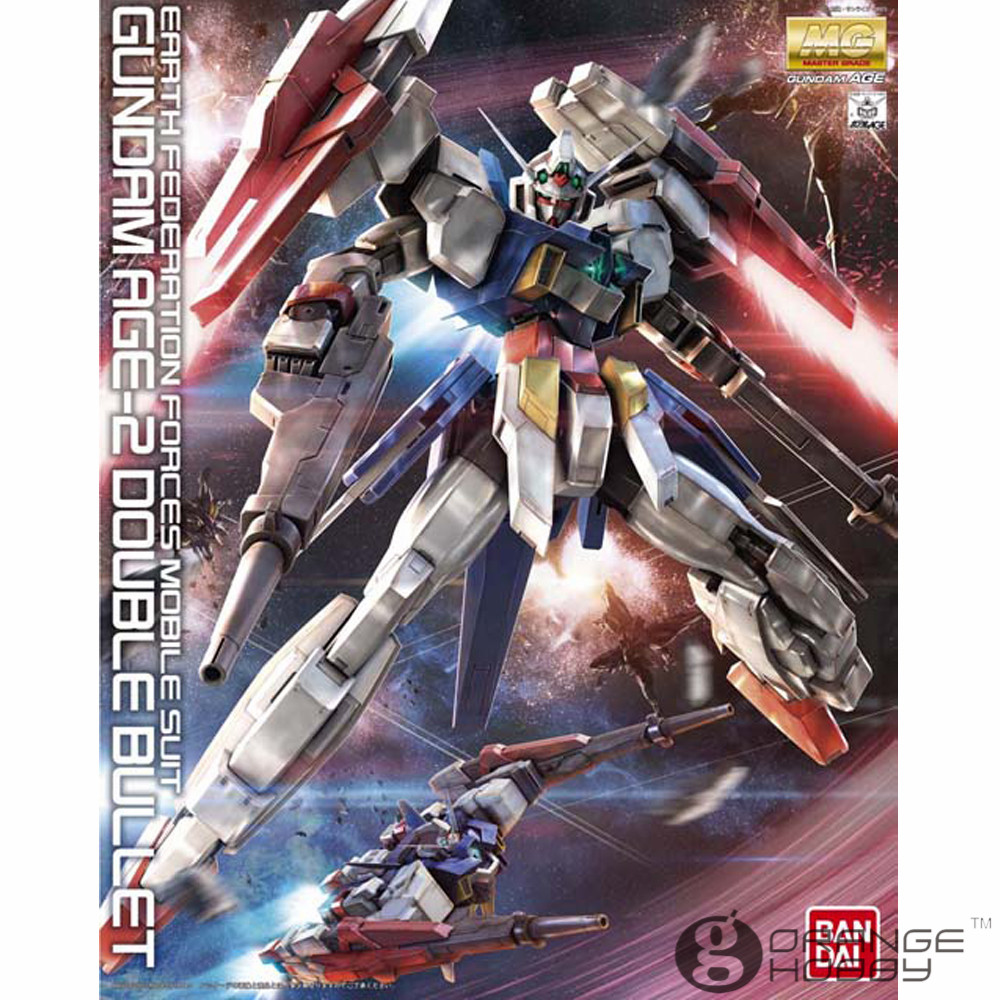 OHS Bandai MG 170 1/100 Gundam AGE-2 Double Bullet Mobile Suit Assembly Model Kits купить