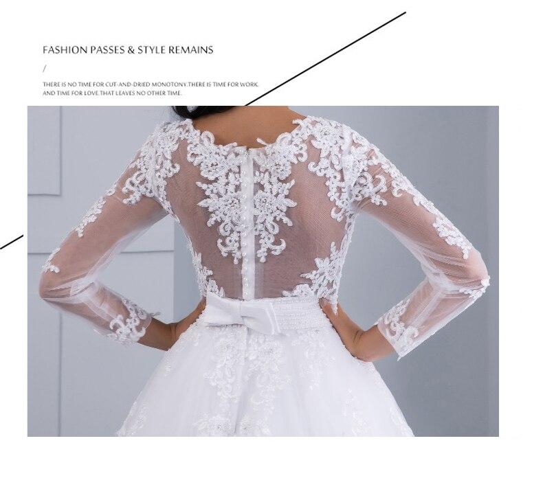 Vestidos de noiva 2 em 1, vestido