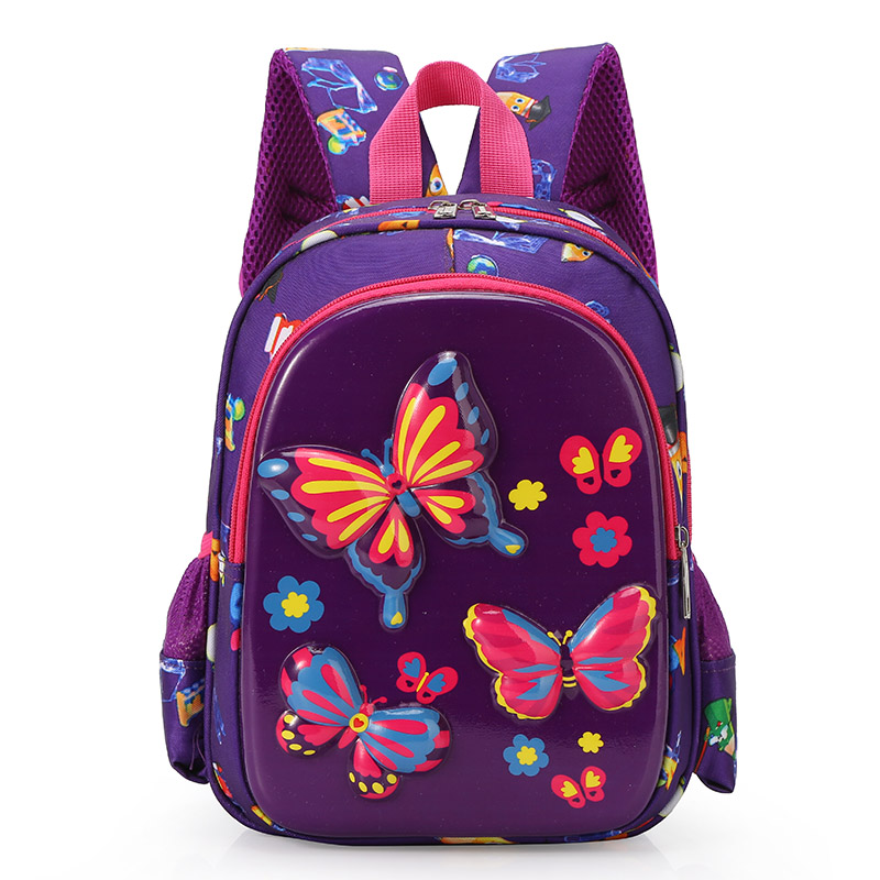 Kindergarten School Bag For Girls Zipper Kid Backpack Fashion Satchel Shoulder Bags Backpack Boys Hard Eggshell Schoolbag