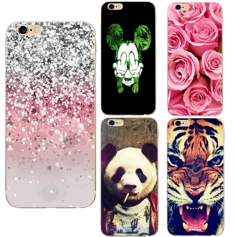 Phone Case Cover For iphone 5 5s 5se 5C Cover Capa Soft Ultra Thin Phone Shell Bags For iphone 6 6s 4.7 7 8 Back Funda Coque