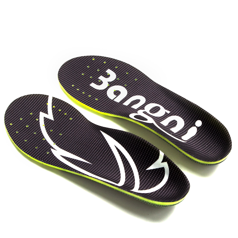 3ANGNI Comfortable Arch Support Orthotic Orthopedic Shoes Insoles Inserts For Flat Feet Plantar Fasciitis Feet Pain Sports