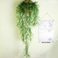 Taxodium fiori artificiali, studio di ripresa scenario bar decorativo fiore e pianta verde