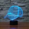 Equipo Gorra de Béisbol MLB Los Angeles Angels de Anaheim Ilusión Nightlight 7 Que Cambia de Color Led Lámpara de Mesa de Escritorio Luz 3D Decoración Para El Hogar