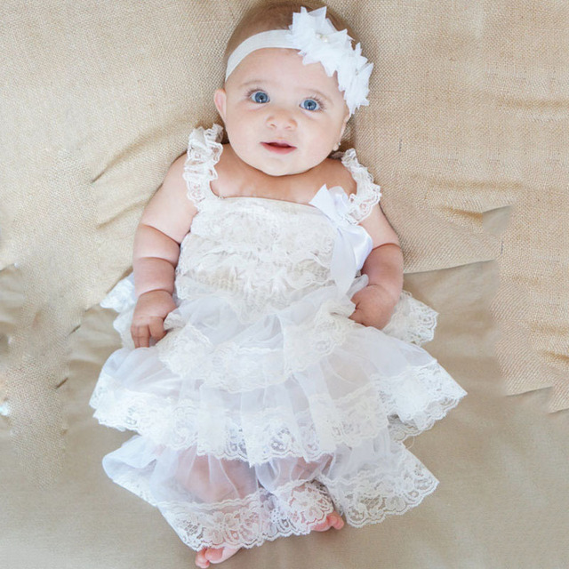 82fc5e1e7f4a High Quality Baby Girl Dress Baptism Dress for Girl Infant 0 2 Year ...