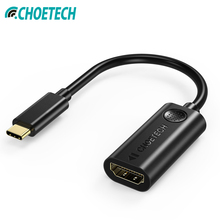 CHOETECH USB C to HDMI Adapter USB 3.1 Thunderbolt 3 Compatible Type-C to HDMI Adapter 4K Resolution For MacBook USB-C itead ft232ic usb to serial bee adapter board foca compatible w xbee usb adapter deep blue