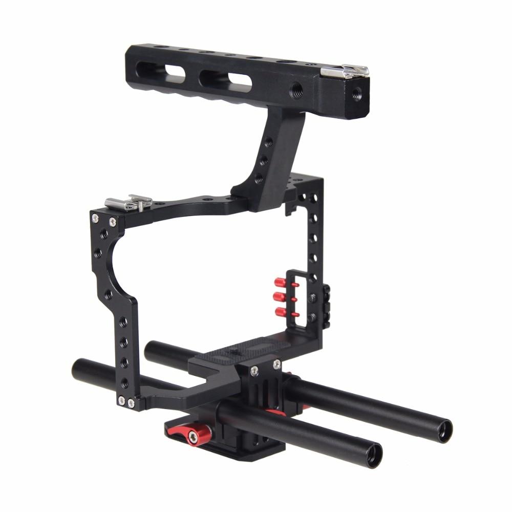 Mbështetës për stabilizuesin e kafazit me kamera DSLR me sistem - Kamera dhe foto - Foto 5