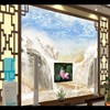 Custom Large Scale Mural Landscape Water Conditions Marble Texture New Background Wall Waterfalls Non Woven Wallpaper