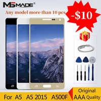 100% Original For Samsung Galaxy A5 2015 A500 LCD A500FU A500F A500M Display LCD Touch Screen Digitizer Assembly Parts +Gift