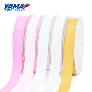Image 5 - YAMA 100% Polyester Silky Ribbon Double Face  Printed Ribbons 22 25 32 38 mm 100yards Gift Decoration Arts and Crafts