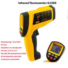 Cheap price Digital Thermometer Digital Non-contact Infrared Ir Thermometer Portable Gun Tester 1350 Degree Genuine Wholesale Industrial