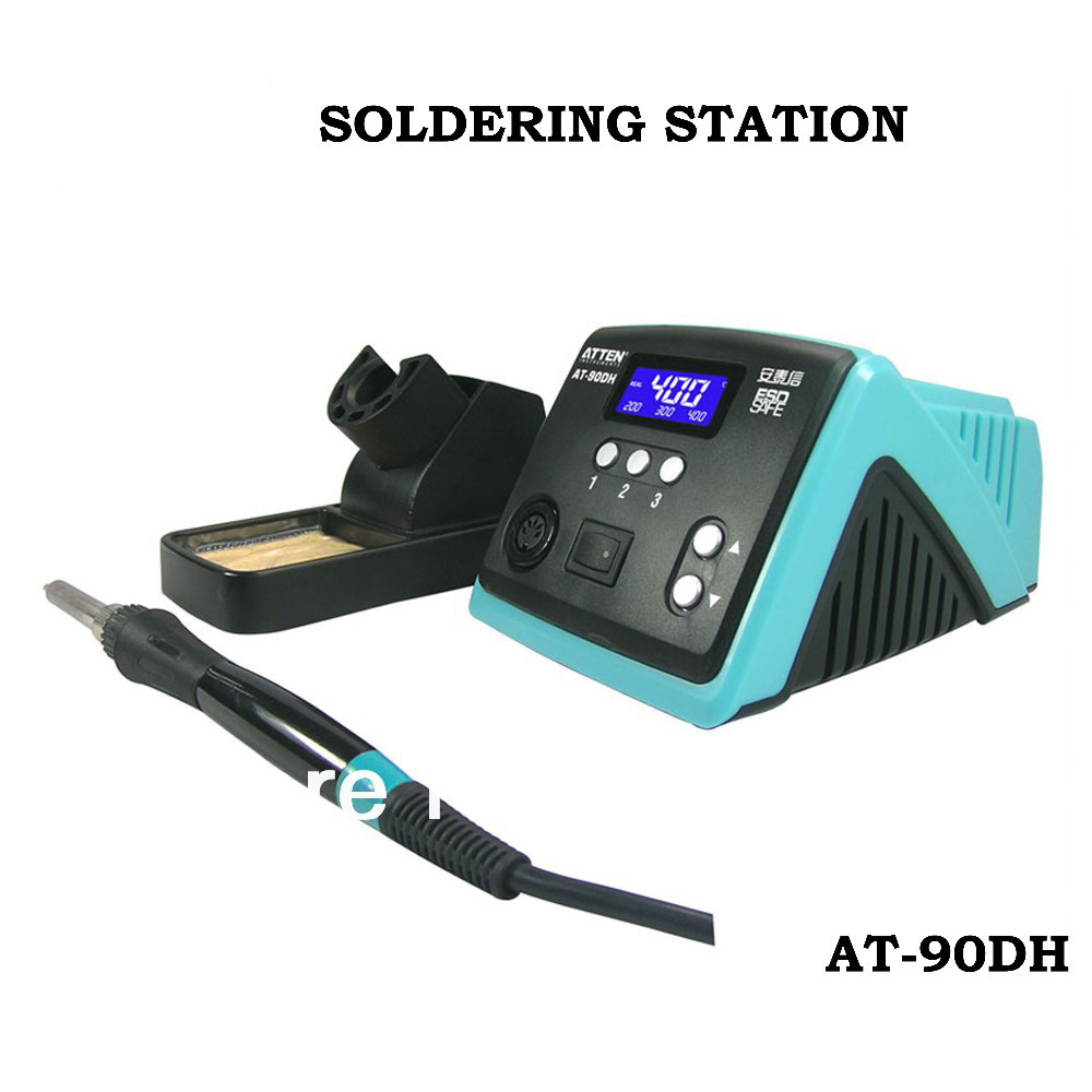 Atten At90dh Unleaded Antistatic Thermostatic Temperature Control Advanced Welding Station 110v