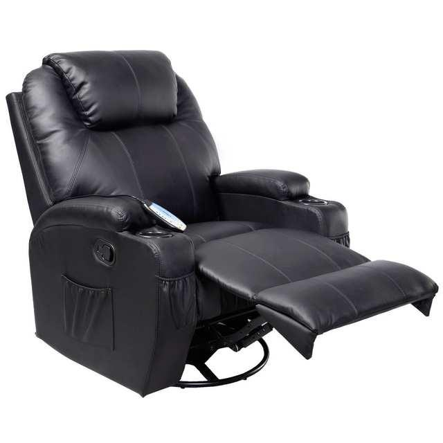 Amazing Giantex Electric Massage Chair Leather Recliner Sofa Chair Frankydiablos Diy Chair Ideas Frankydiabloscom