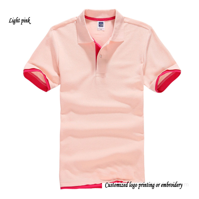 Solid Blank Top Polo Shirts Euro Size Short Sleeve Uni Ralp Shirt Fit Men And Women In From S Clothing On