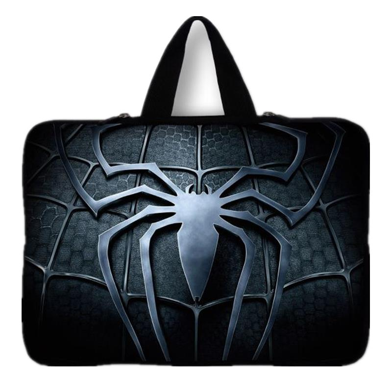 Neoprene 15 15.4 15.6 inch Spider-Man laptop notebook handle case bag sleeve pouch cover For Dell XPS Toshiba Hp Pavilion 15