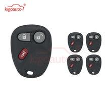Kigoauto 5 шт дистанционный ключ чехол 3 кнопки дистанционного