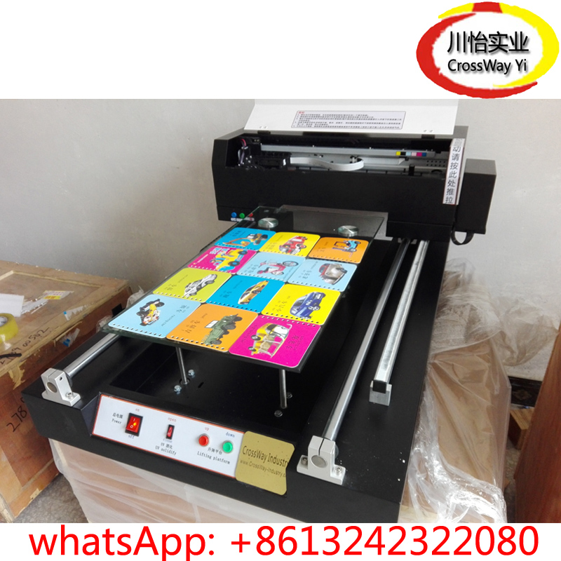 32*60Cm Best Price UV Inkjet Printing Machine For Glass Metal Ceramic Tile