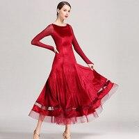 standard dance dresses ballroom waltz dresses ballroom dress dancewear women dance costumes flamenco dress tango costumes velvet