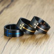 Рекомендуемое простое кольцо из нержавеющей стали мужское ювелирное