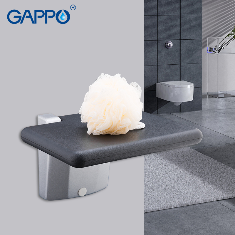 Hot Sale GAPPO Wall Mounted Shower Seat folding bench for child ...