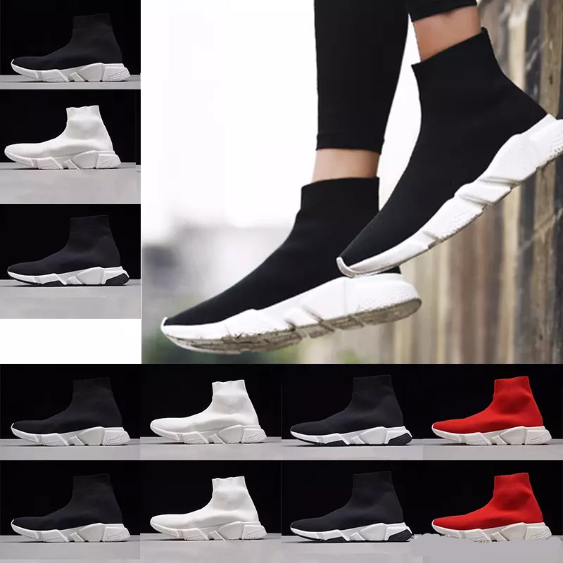 e4d8fe93234c 2018 High Quality Cheap 2018 Women Men Running Shoes Black and Red Speed  Trainer Sports Sneakers Casual shoes wholesale 36-45 E