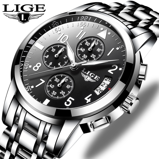 Relogio Masculino Mens שעונים עמיד למים קוורץ עסקי שעון ליגע למעלה מותג יוקרה גברים מקרית ספורט זכר שעון Relojes Hombre