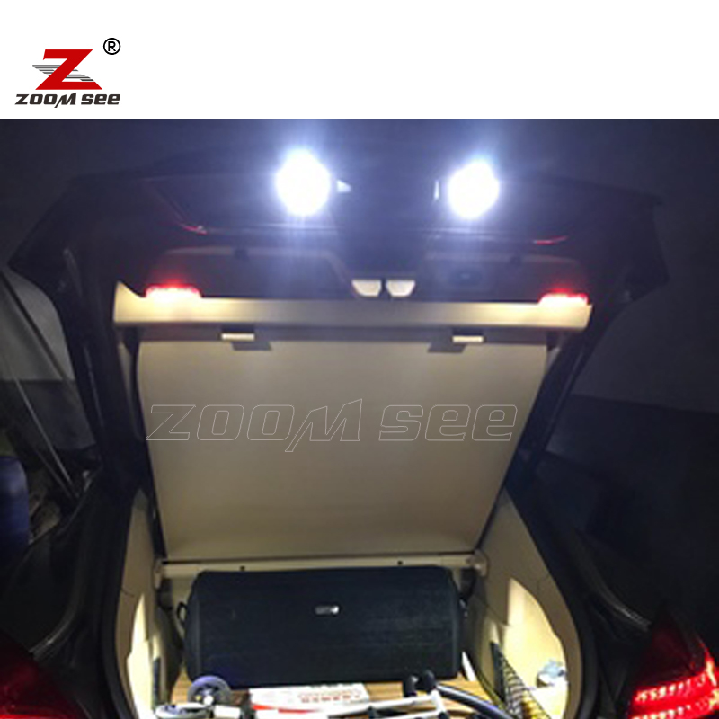 22pcs Led License Plate Lamp Interior Dome Light Kit For Porsche