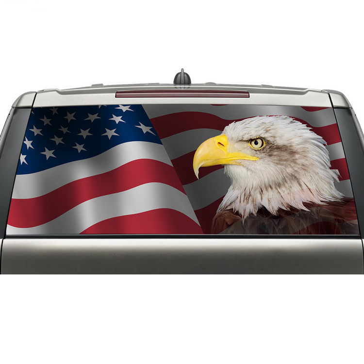 Popular eagle decal buy cheap eagle decal lots from china for Eagle windows