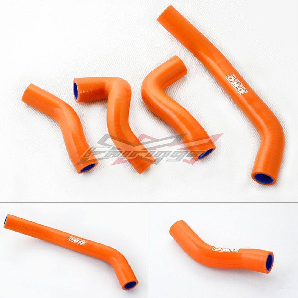 FREE SHIPPING SILICONE RADIATOR HOSE KIT FIT For KTM DUKE 390 motorcycle front rider seat leather cover for ktm 125 200 390 duke