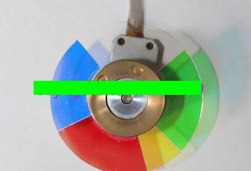 NP200 NP200+ projector color wheel 5 segment 40mm xr e2530sa color wheel 5 color beam splitter used disassemble