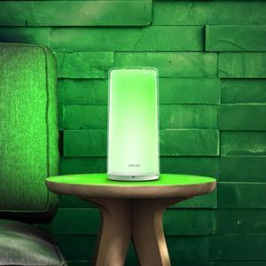 Image 5 - Hot PHILIPS Zhirui LED Bedside light Smart indoor table lamp USB charging night light bedroom desk lamp control by Mihome APP