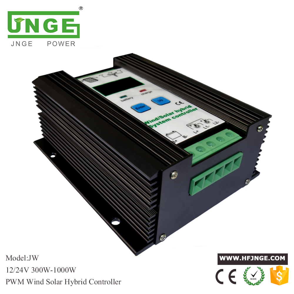 600W Wind Solar Hybrid Controller 400W wind turbine 200W Solar Panel Charge Controller 12V/24V Auto with Big LCD Display wind and solar hybrid controller 600w with lcd display charge controller for 600w wind turbine and 300w solar panel 12v 24v