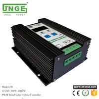 600W Wind Solar Hybrid Controller 400W wind turbine 200W Solar Panel Charge Controller 12V/24V Auto with Big LCD Display