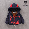 Boys winter jackets coat cartoon character children winter jackets for boys toddler boys parka jacket with wings