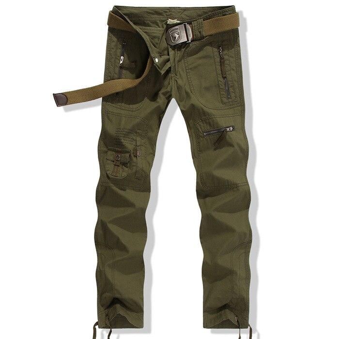 bolsillos Moda Ocio Algodón Mujeres Más Ejército Militar Camuflaje Cargo Multi Del Verde Baggy Tamaño Pantalones qUnICxwRS