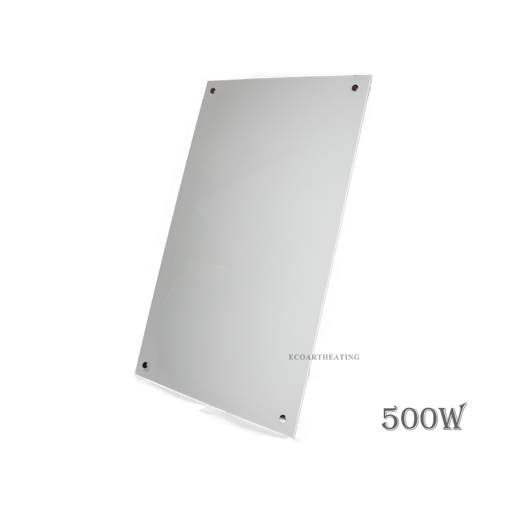 500w 5 2500w white glass infrared radiant heating panels - Infrared bathroom ceiling heaters ...
