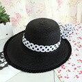 Мода хорошего качества новая шляпа Весна/лето крытая лица большой вдоль cap кружева Уф солнцезащитный крем шляпа солнца