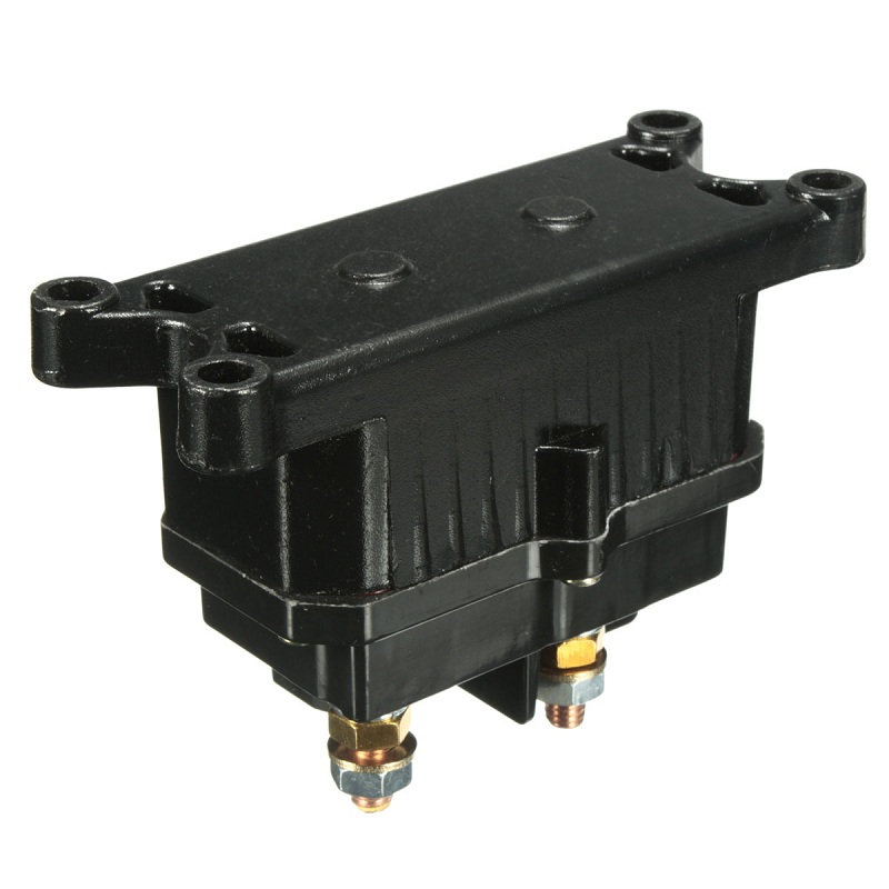 New Arrival Universal 12V Solenoi d Relay Contactor Winch Rocker Switch Thumb For ATV/UTV Hot Best Price